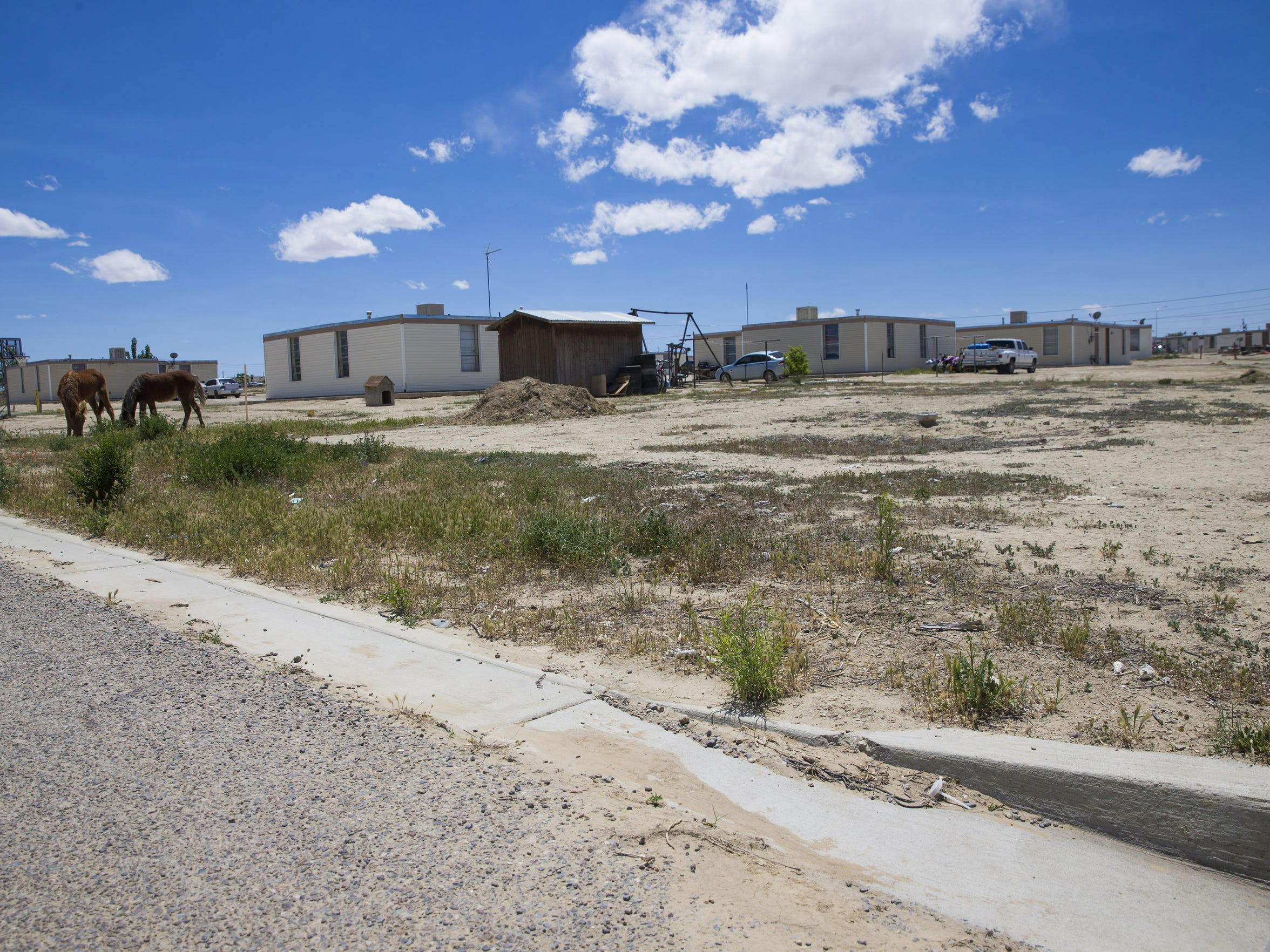 The Navajo Housing Authority tore down all but one