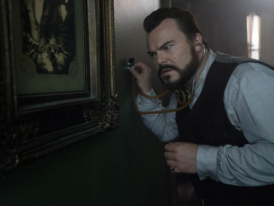 Jack Black stars as a warlock whose place has a tick-tocking