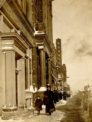 The Buxbaum & Stern store, likely in the winter of 1909.