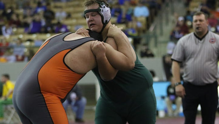 Four Greenbrier wrestlers place in state tourney
