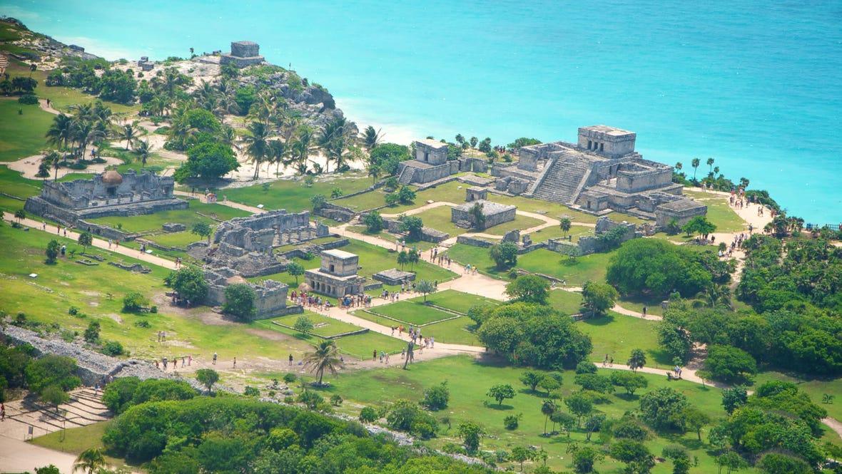 tulum maya mexico caribbean
