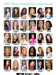 Meet the 2017 Miss Louisiana Contestants.