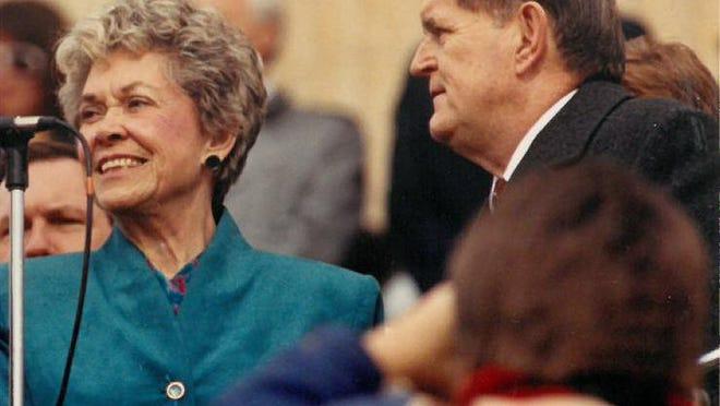 Former Gov. Joan and Spencer W. Finney