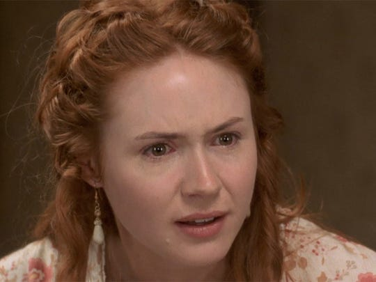 "Ellen (Karen Gillan) operates a hotel in ""In a Valley of Violence."""