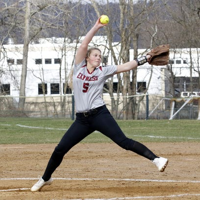 HS Softball: Elmira deals Corning first setback behind Bella Reese's shutout