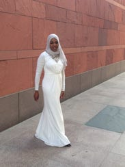 Zahra Aljabri Royal Gown ($169) from her boutique website