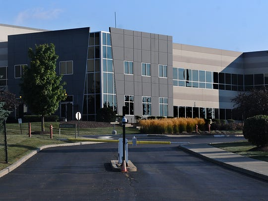 This is one of the main entrances to the Gap Distribution Center off Merritt Avenue in Fishkill.