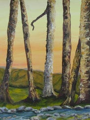 Sentinels by Kimberly Parker Town art show