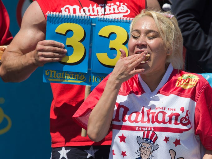 Who Won The Hot Dog Eating Contest Today