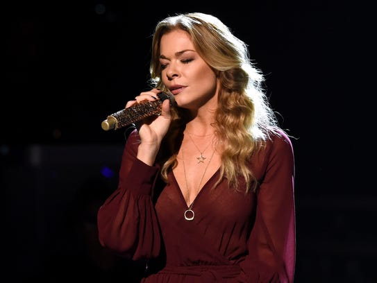 Singer LeAnn Rimes performs during the CMA 2015 Country