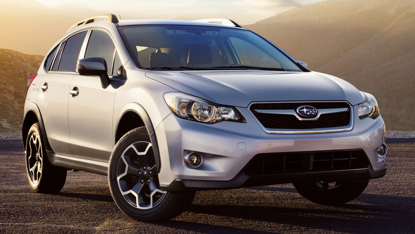 2015 subaru crosstrek review small suv a great value. Black Bedroom Furniture Sets. Home Design Ideas