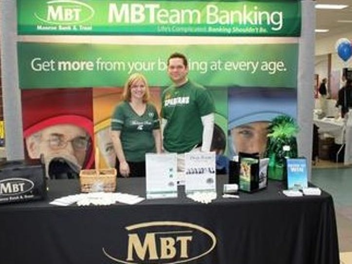 Monroe Bank and Trust is a major sponsor of this year's