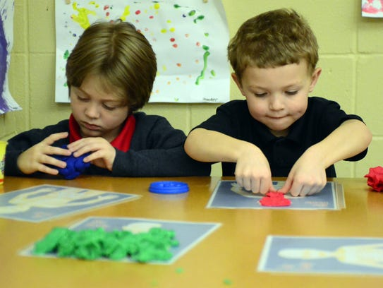 Baxterville School Pre-K students will be joined by
