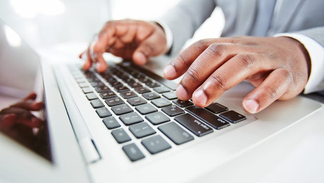 Getting numbers when you thought you were typing letters could be the result of hitting your Num Lock key accidentally or needing to update your keyboard drivers.
