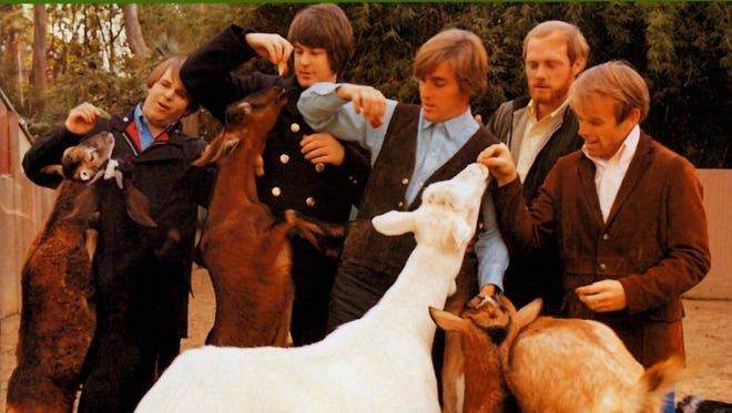 """The cover to The Beach Boys' 1966 classic """"Pet Sounds."""""""