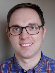 Food writer Jared Wilson in 2016
