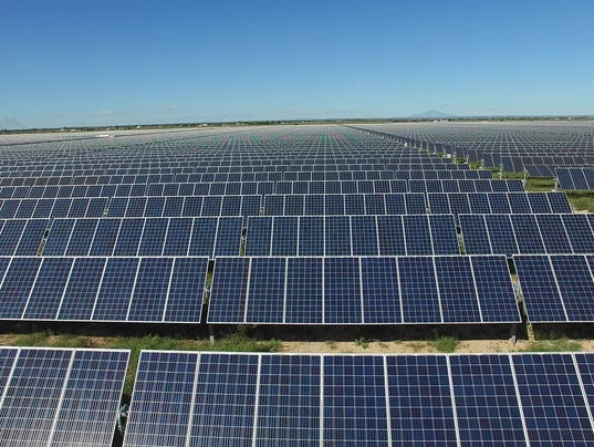 Roswell and Chaves County Solar Energy Centers