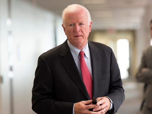 <strong>Retiring lawmakers of the 113th Congress:</strong> Sen. Saxby Chambliss, R-Ga. (Elected to the House in 1994; elected to the Senate in 2002)