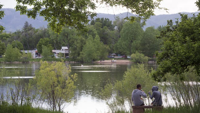Parks in Fort Collins are popular places to hang out on a summer's day. But some activities, such as hitting golf balls, are not allowed under city code.