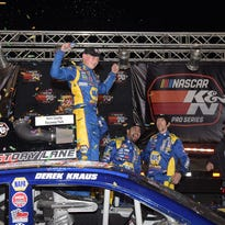 His potential already well known, Wisconsin racer Derek Kraus gets a boost from NASCAR