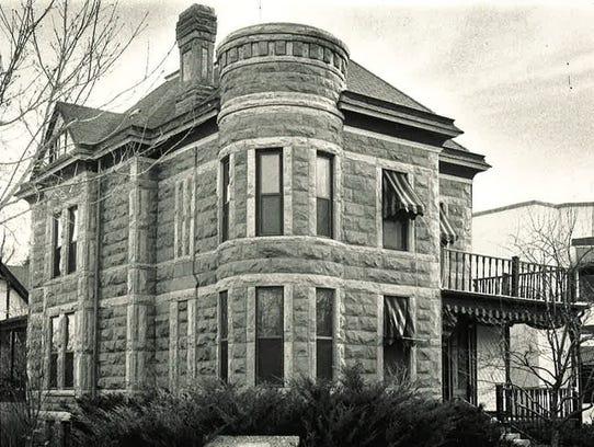 The McHugh-Andrews house at 202 Remington Street, now