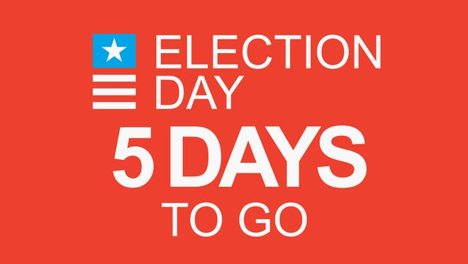 Election Day: 5 days to go