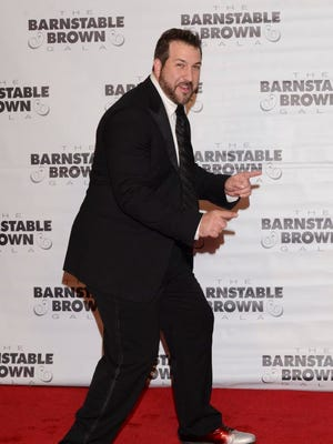 Recording artist Joey Fatone attends the Barnstable Brown Kentucky Derby Eve Gala at Barnstable Brown House on May 2, 2014 in Louisville, Kentucky.  (Photo by Vivien Killilea/Getty Images)