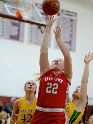 Fair Lawn junior center Nancy Ruf scored 30 points to help lead the Cutters past Hackensack on Saturday.
