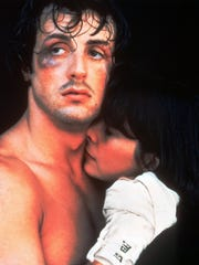 Sylvester Stallone and Talia Shire in 1976's 'Rocky.'