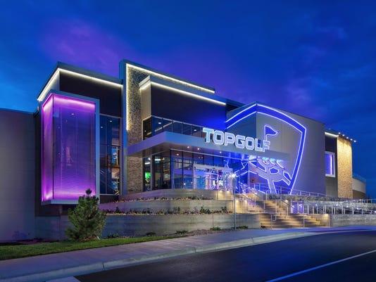 Topgolf in Centennial Colorado