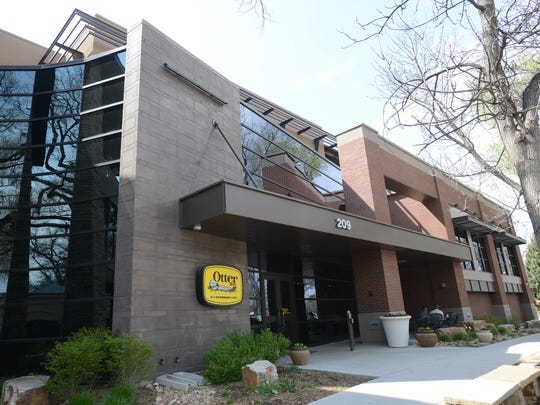2014: Coloradoan library The OtterBox headquarters building in Fort Collins is seen in this file photo. OtterBox headquarters is seen Monday in Fort Collins. The maker of protective covers for mobile devices has agreed to pay the U.S. government $4.3 million to settle allegations that it underpaid custom duties it owed on cases made in China.  V. Richard Haro/The Coloradoan OtterBox headquarters in Fort Collins. OtterBox settled a $4.3 million tax lawsuit today.