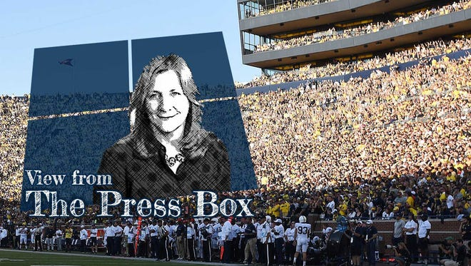 "Detroit News reporter Angelique S. Chengelis launched a podcast called ""View from the Press Box."""