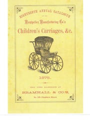 Cover of the Montpelier Carriage Company catalog.