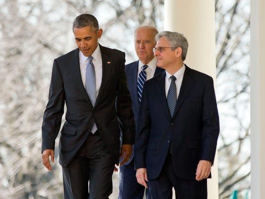Barack Obama, Merrick Garland, Joe Biden
