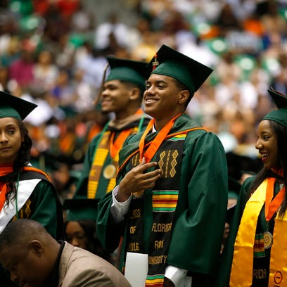 FAMU's spring graduation commencement ceremony at the