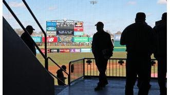 McCoy Stadium -- seen here in April, 2019 -- may already have hosted its last Pawtucket Red Sox game.