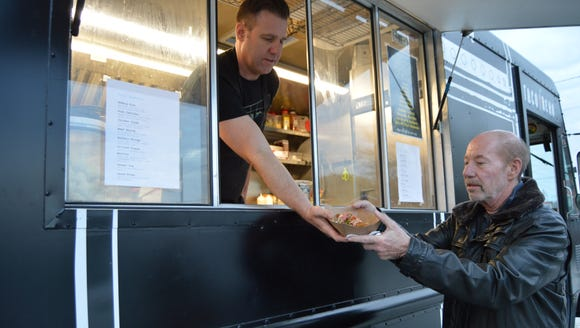 Billy Lucus, owner of Taco Reho food truck in Rehoboth,