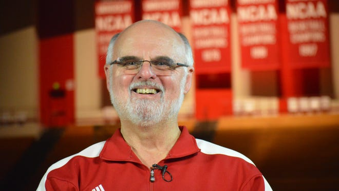 Chuck Crabb celebrates 40 years as part of IU athletics.
