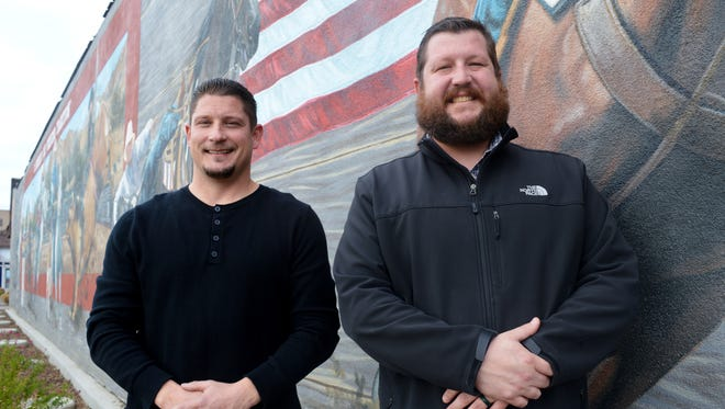 Tony Caudle, Left and Wes Hardin, right, are managers of Valley Pure in Woodlake