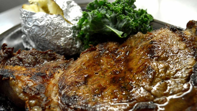 Steaks are among the most popular menu items.