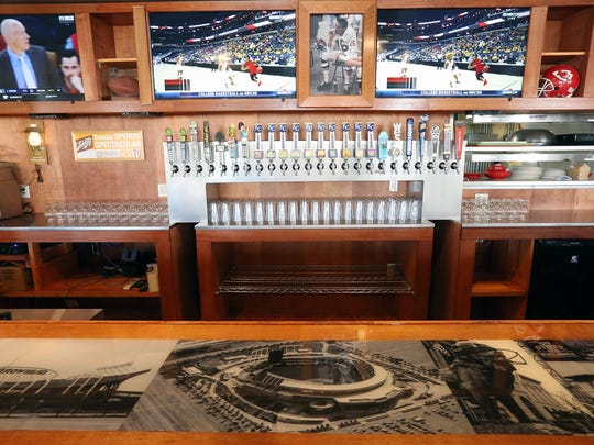 Truman's KC Pizza Tavern features a selection of Kansas
