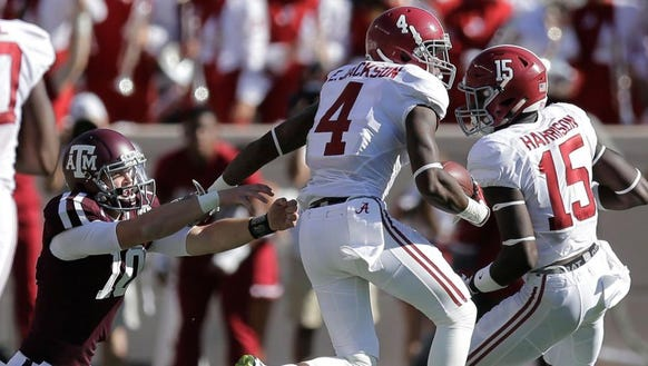 Safety Eddie Jackson was the last Alabama player chosen