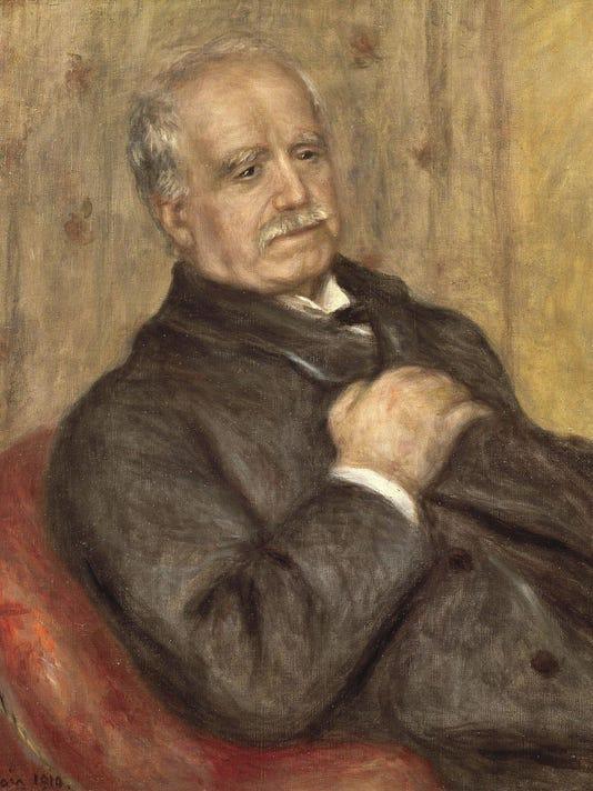 PDR IMAGE 17 Durand Ruel portrait by Renoir