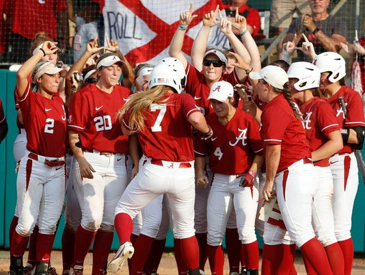 Alabama softball