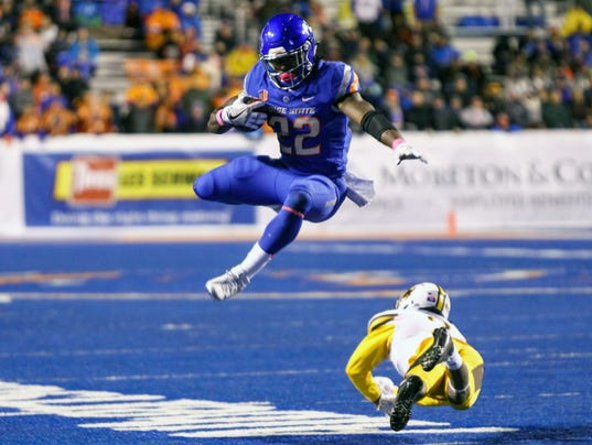 NCAA Football: Wyoming at Boise State