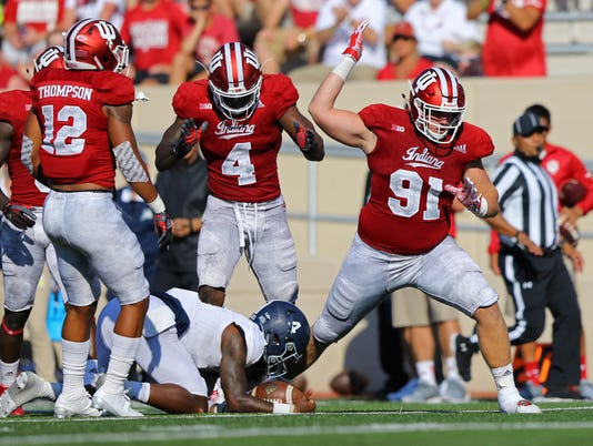 NCAA Football: Georgia Southern at Indiana