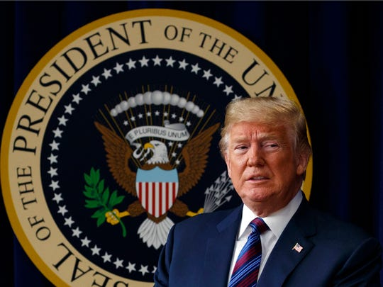In this May 30, 2018 photo, President Donald Trump