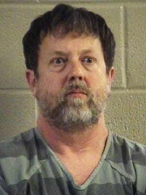 This undated photo provided by the Whitfield County Sheriff's Office shows Jesse Randal Davidson. Social studies teacher Davidson barricaded himself inside a classroom at Dalton High School in Dalton, Ga., Wednesday, Feb. 28, 2018, and fired a handgun, sending students running outside or hunkering down in darkened gym locker rooms, authorities said.