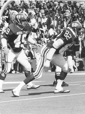 Dan Bass' 543 career tackles as MSU are 68 more than the next most by a Spartan player.