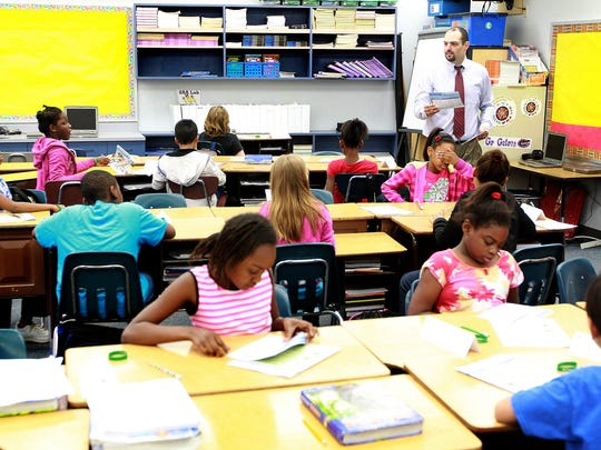 Pineview Elementary School students complete learning